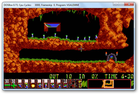 Lemmings DOS