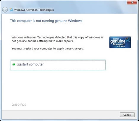 Windows 7 Genuine