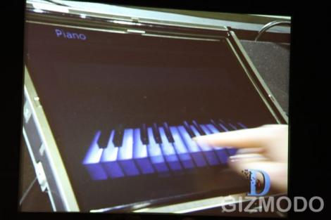 windows piano touch