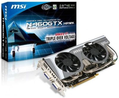 Placa de vídeo MSI N460GTX Hawk