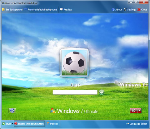Windows 7 Logon