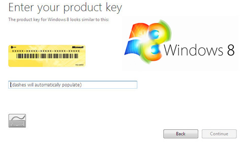 Serial do Windows 8