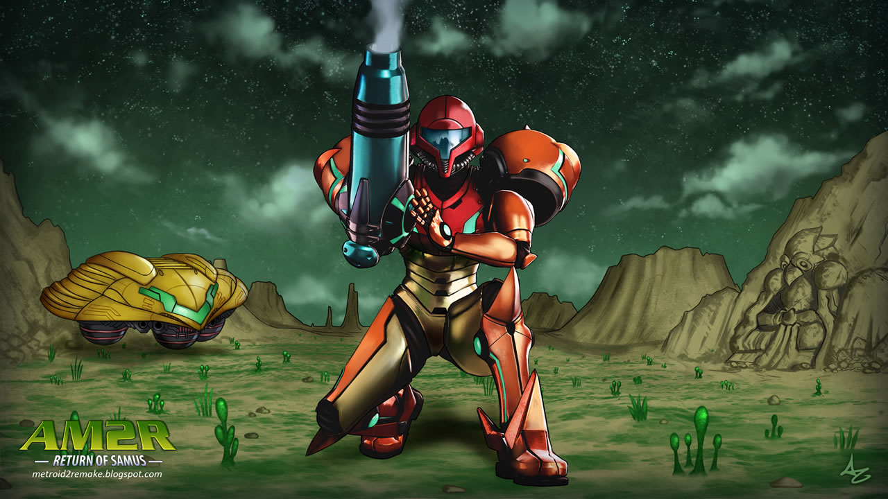 Sequencia Metroid 2 - AM2R