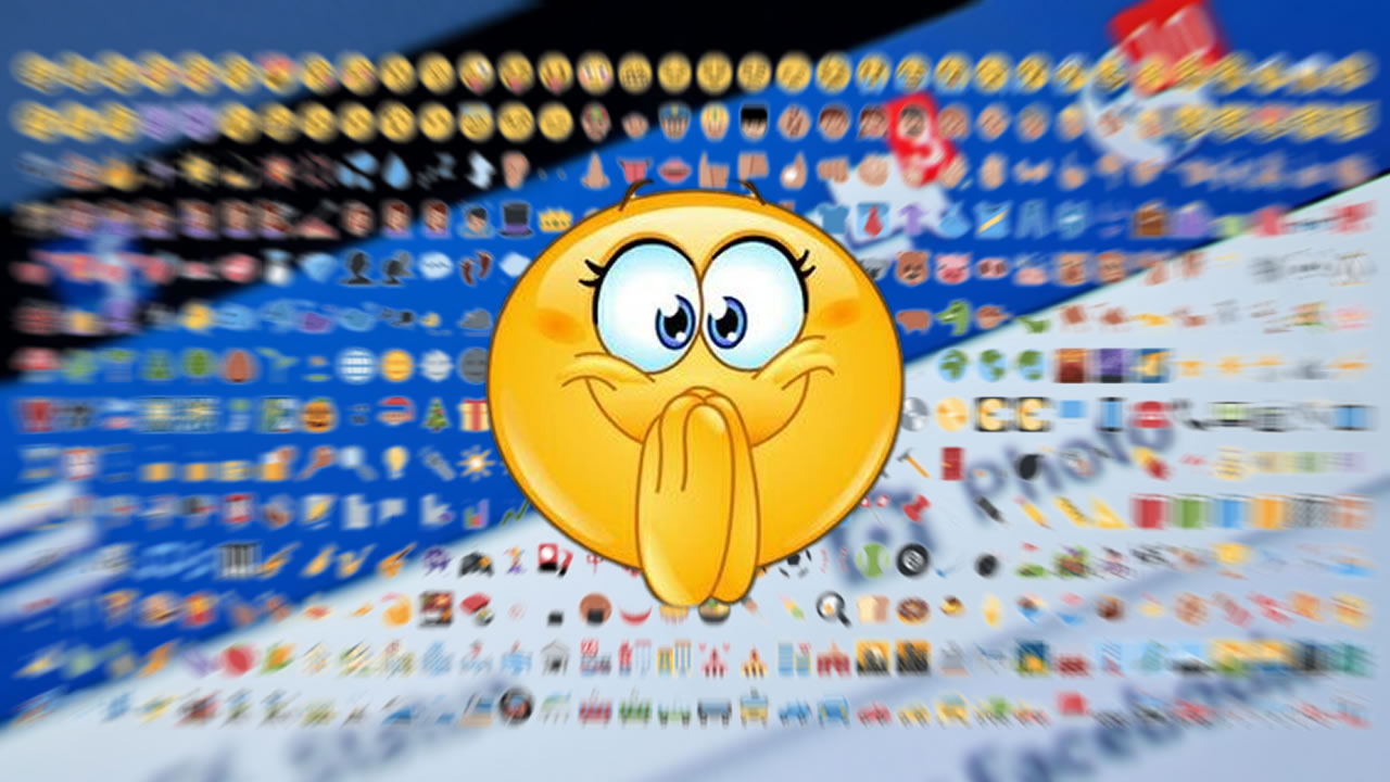 Emoticons e Emojis Facebook