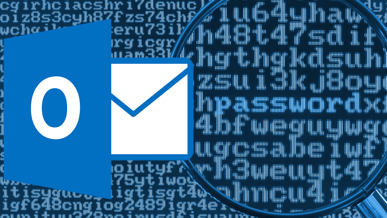 Senha Password Outlook