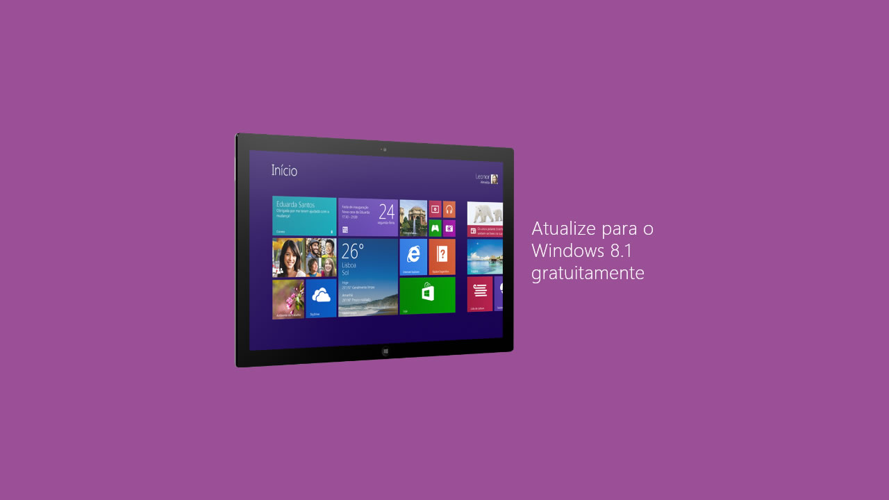 atualize windows 8.1 gratuitamente