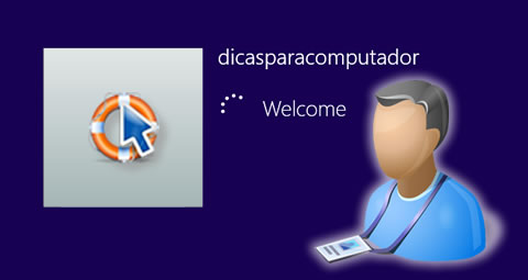 Auto login do Windows 8