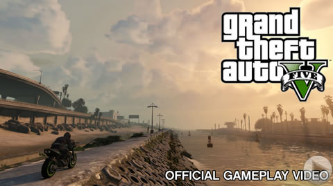 gta 5 oficial gameplay video