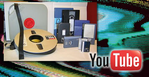 VHS Fita Cassete youtube